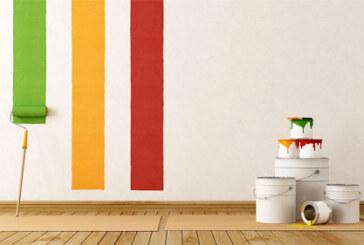 Разнообразная краска для стен поможет сделать разнообразные стили интерьера