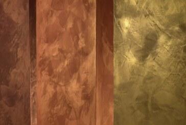 Краска с эффектом шелка делает дизайн квартиры уютным и стильным