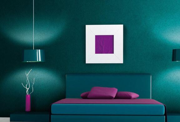 Как выглядит краска для стен холодных оттенков?