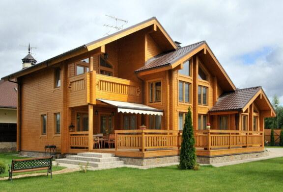 Защита дома от влаги и вредителей гарантирует долгую эксплуатацию дерева