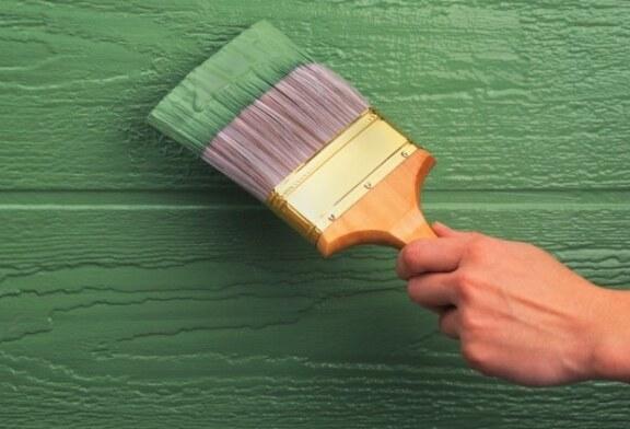 Краска для дерева в интерьере спальни