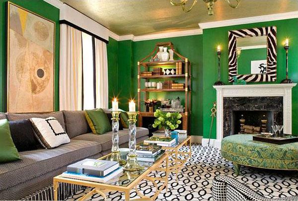 При смене цвета поверхностей в ремонте, можно использовать не один цвет красок для стен