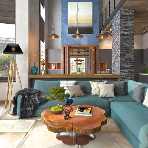 Мебель в пригородном доме. Создаём стильный интерьер сами
