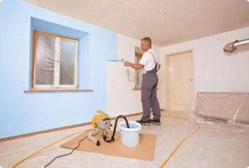 Как защитить себя при покраске, если вы хотите покрасить потолки и стены