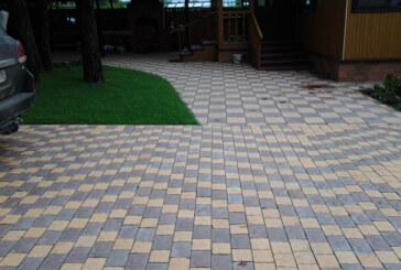 Делаем двор: принципы укладки тротуарной плитки
