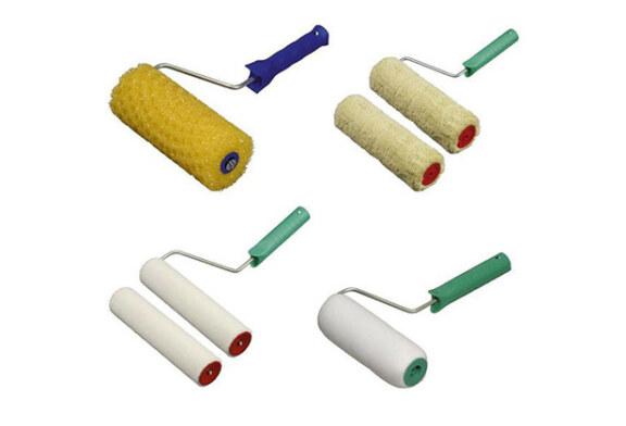 Моменты ремонта: какие бывают кисти и валики для окрашивания поверхностей